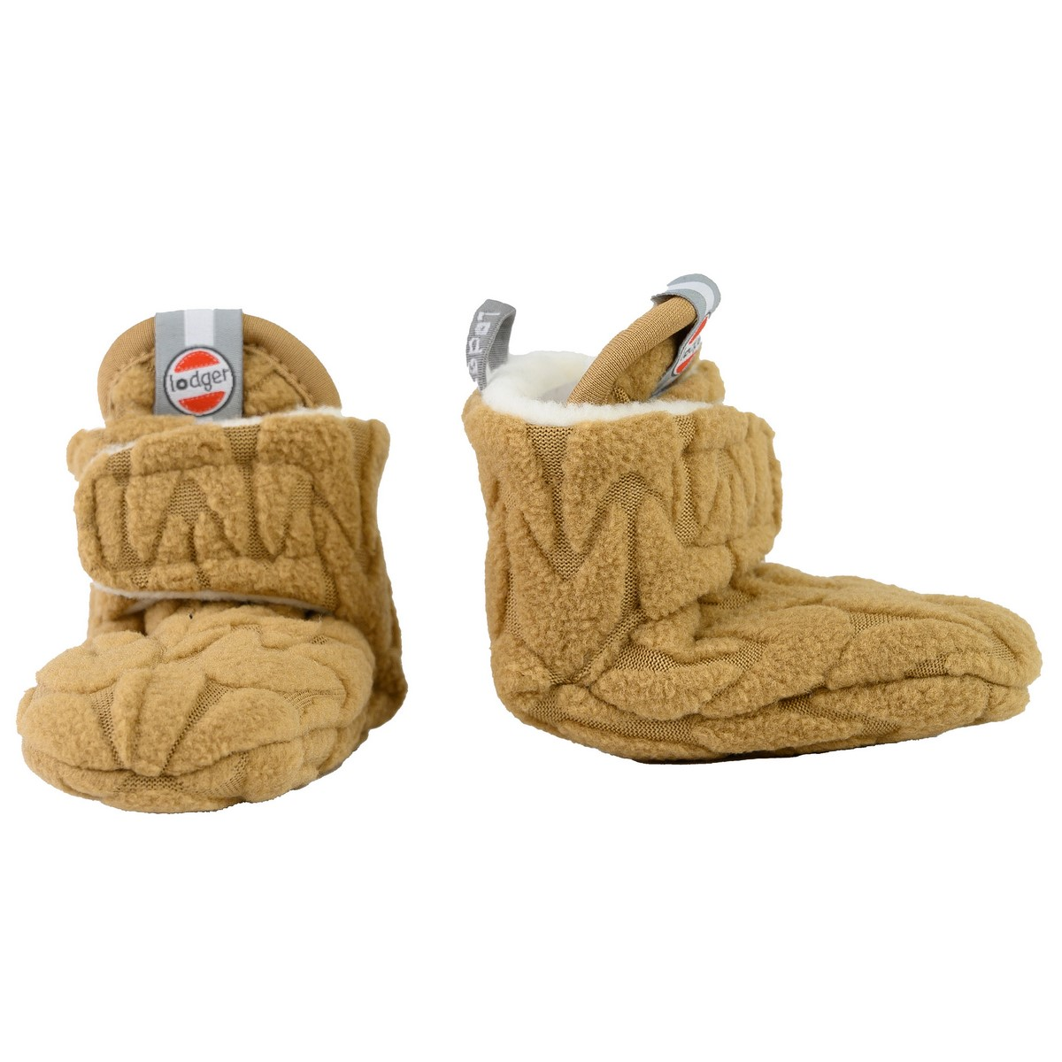 LODGER Slipper Fleece Empire Dark Honey 6 - 12 měsíců