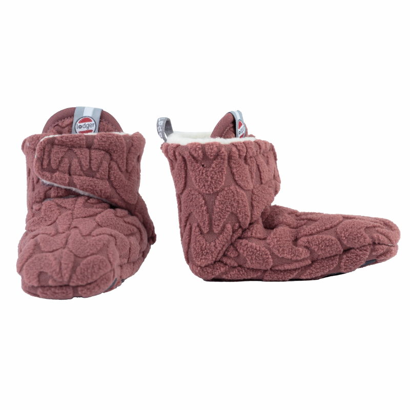 LODGER Slipper Fleece Empire Rosewood 6 - 12 měsíců