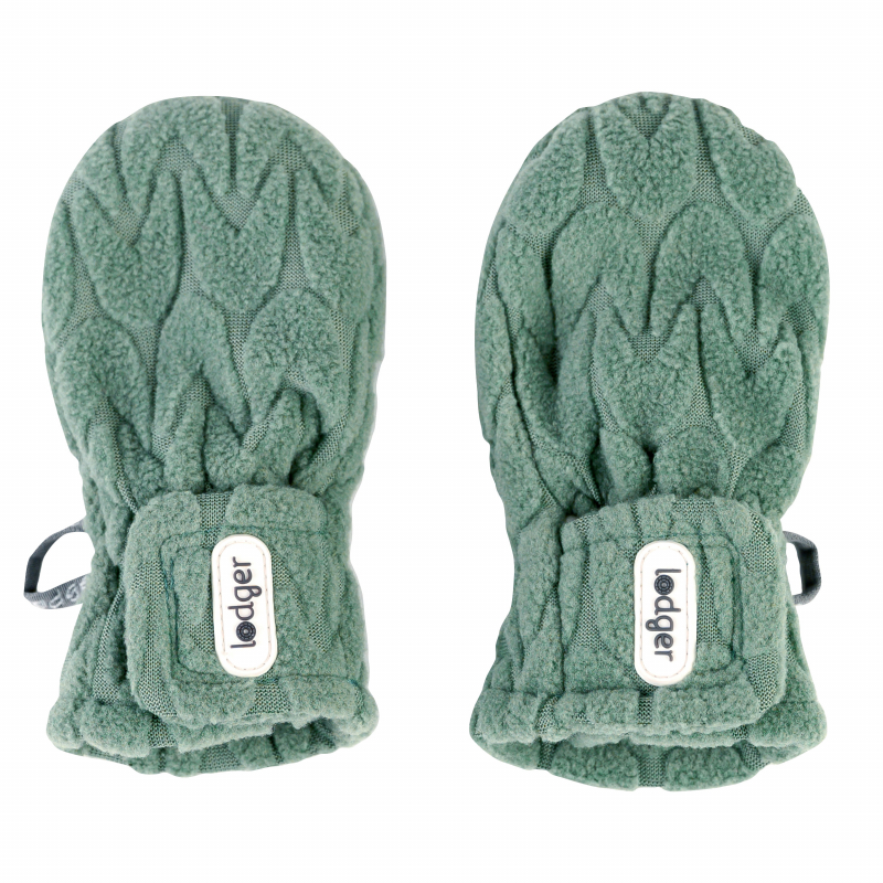LODGER Rukavičky Mittens Empire Fleece Green Bay 1 - 2 roky