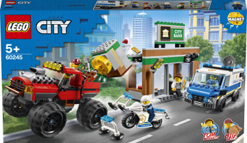 LEGO® City 60245 Lúpež s monster truckom
