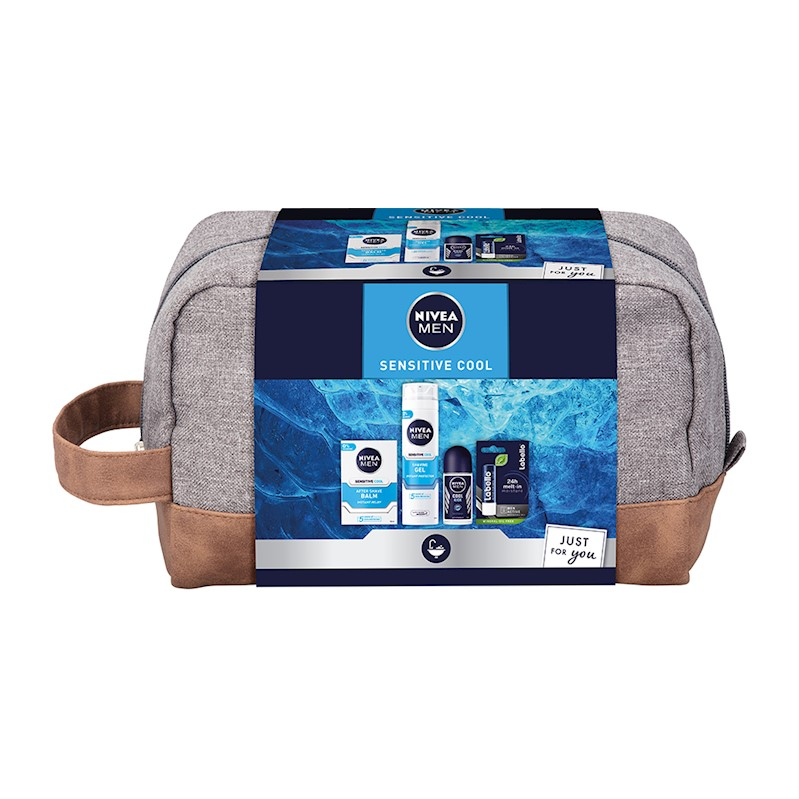 NIVEA MEN Dárková sada Sensitive Cool Set