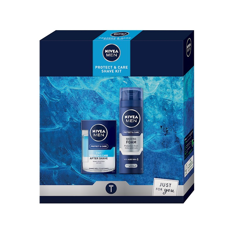 NIVEA MEN Dárková sada Protect  Care Shave Kit