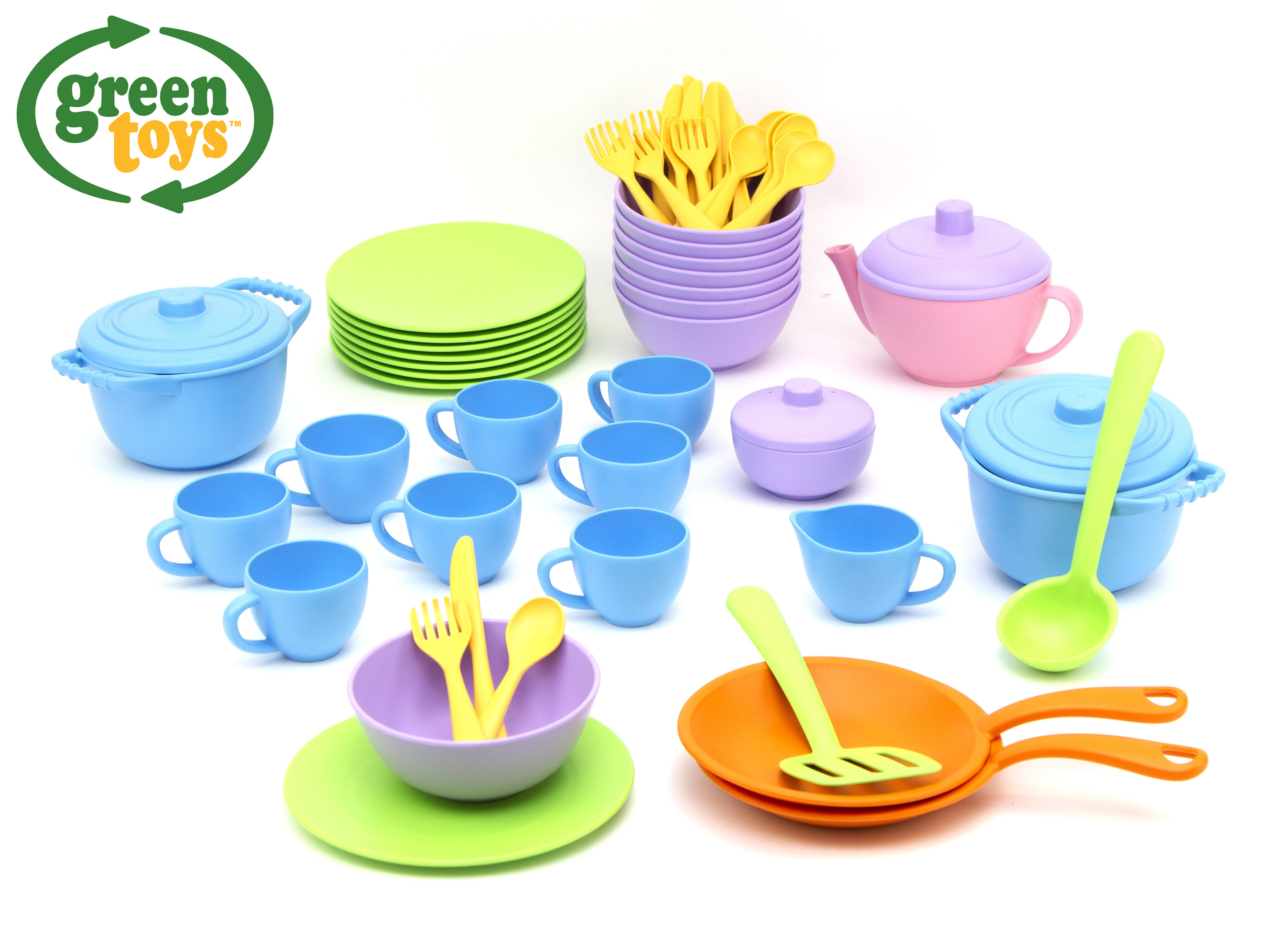 GREEN TOYS Riad set 61 ks