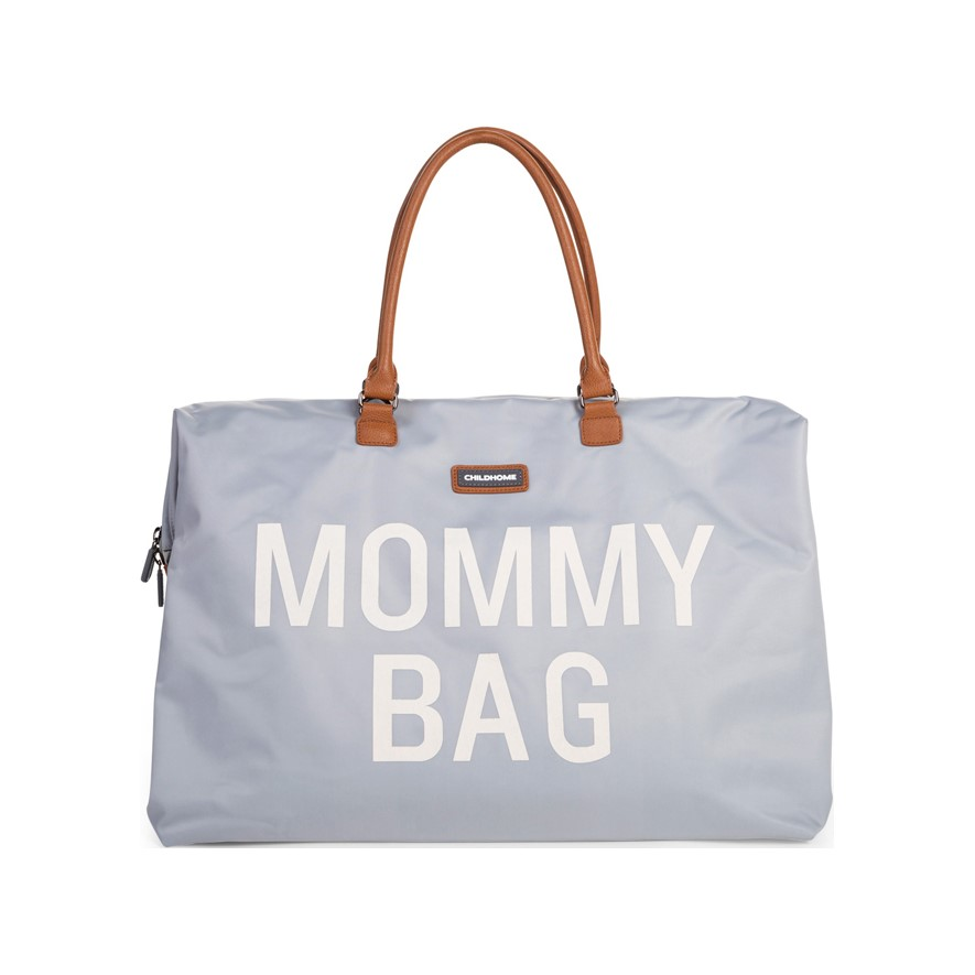 CHILDHOME Přebalovací taška Mommy Bag Grey Off White