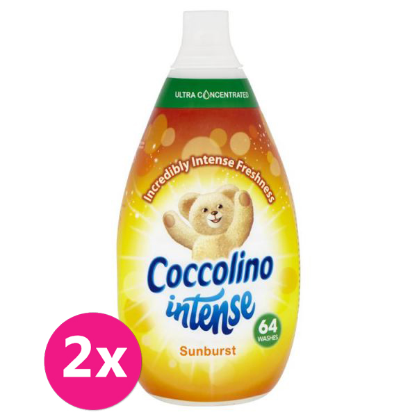 2x COCCOLINO Intense Sunburst aviváž 64 dávek 960 ml