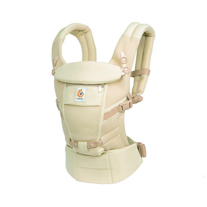 ERGOBABY Nosítko Adapt Cool air mesh - Natural Weave