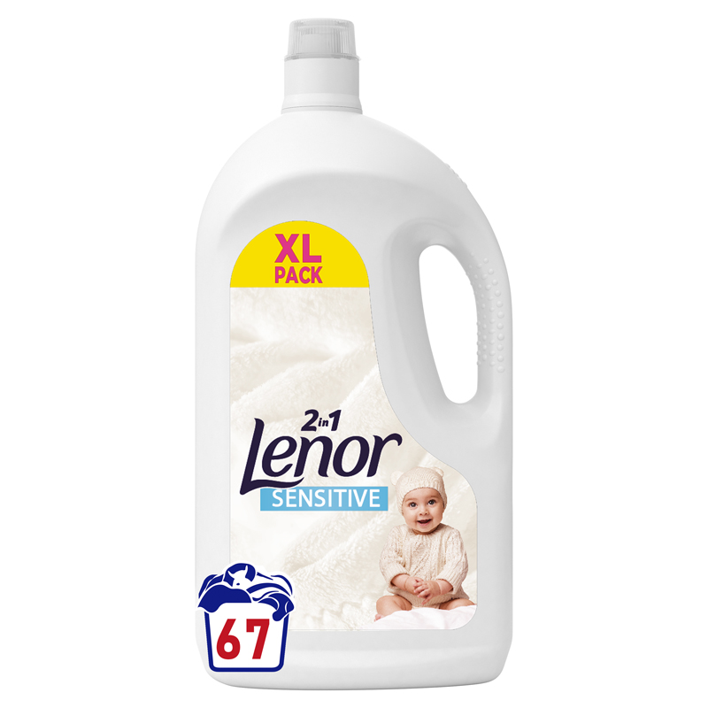 LENOR Prací gel Sensitive 67 pd