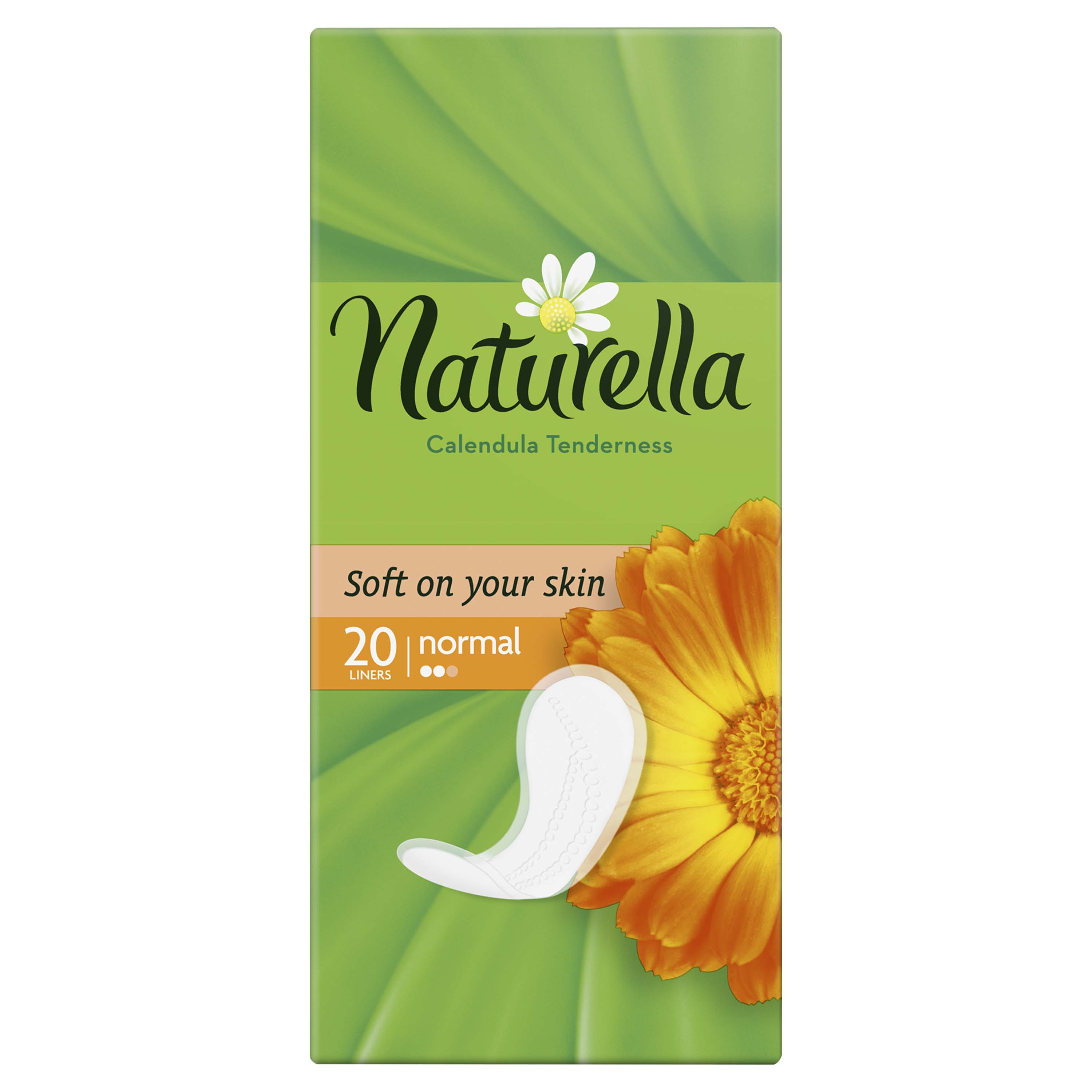 NATURELLA Calendula Tenderness Normal 20ks - intimky
