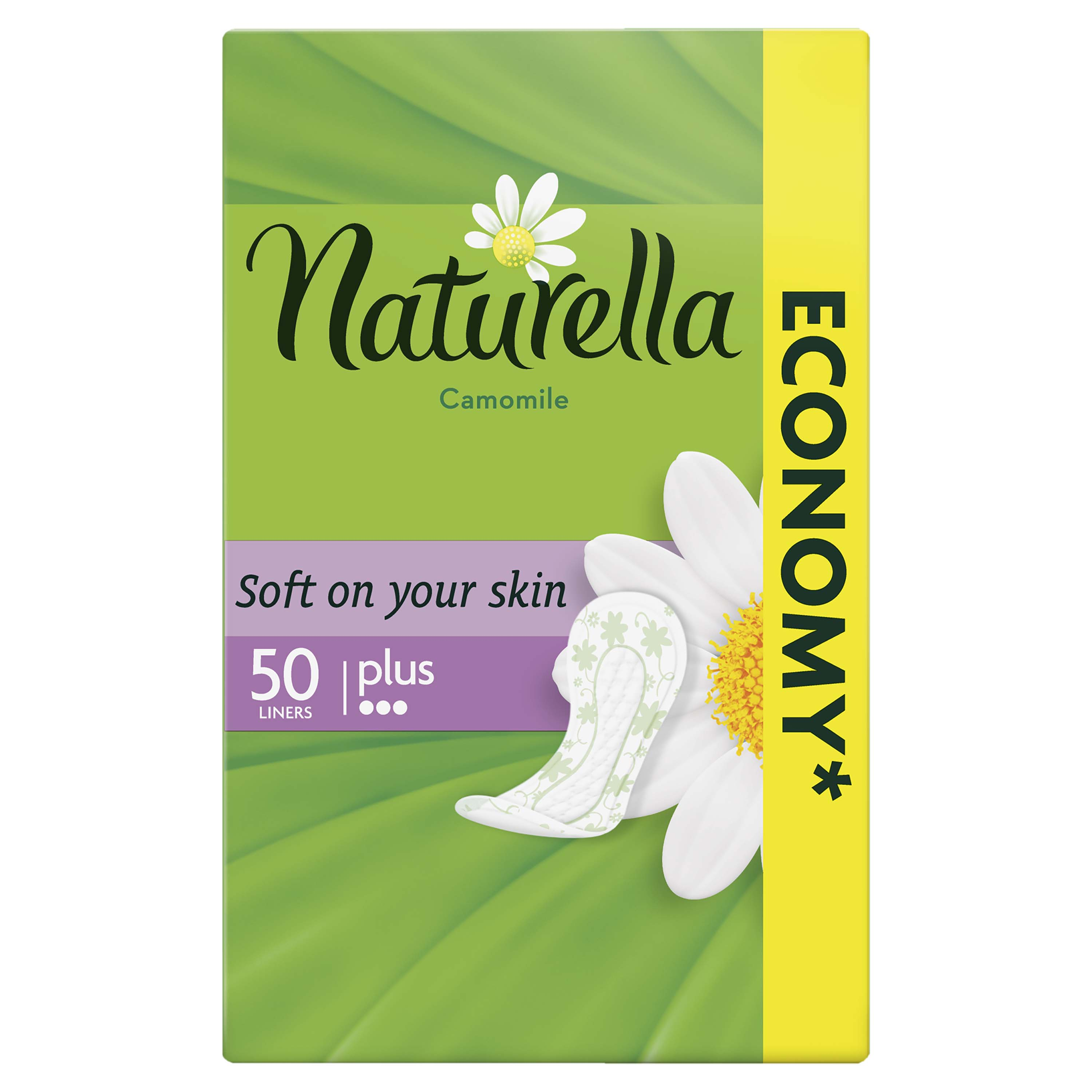 NATURELLA Camomile Plus 50ks - intimky